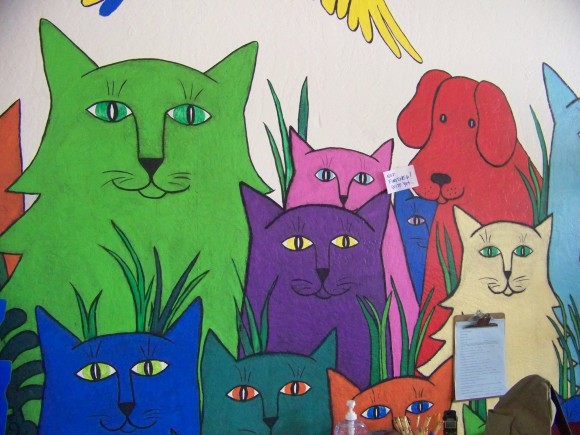 Angels Camp Adoption Center Mural