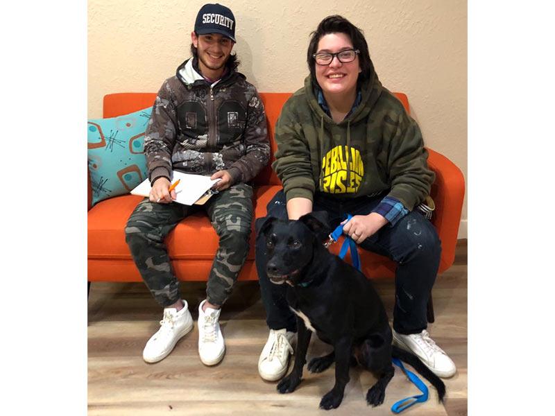 Jasper dog adopted November 2019