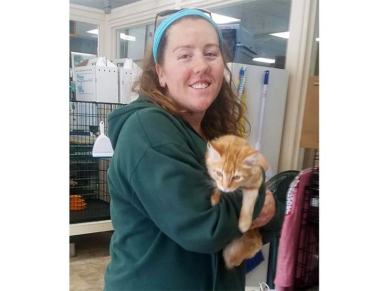 Charlie cat adopted November 2019