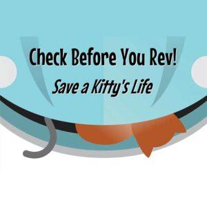 Check before you rev - save a life
