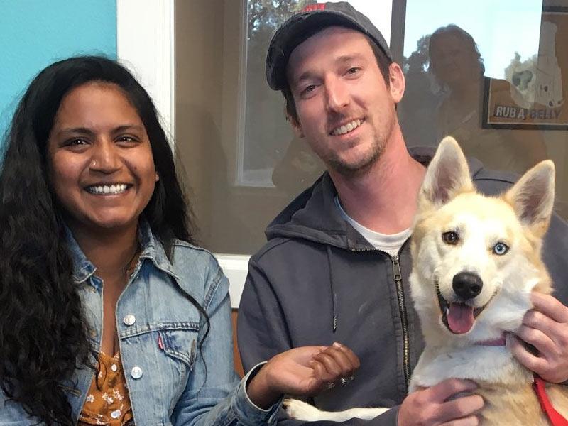 Coco dog adopted November 2019
