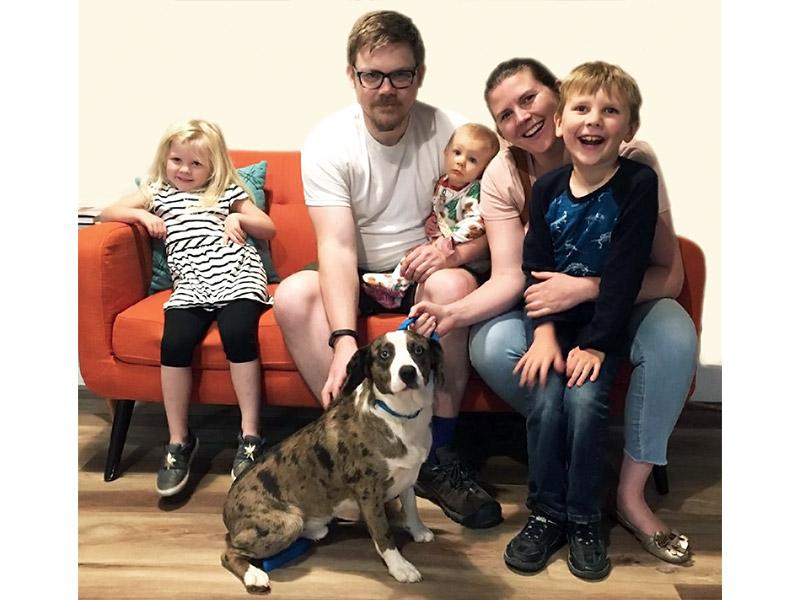 Doc dog adopted November 2019