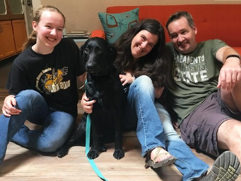 Sasha dog adopted August 2019