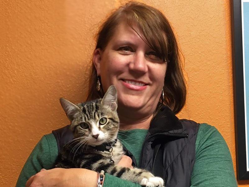 Benny cat adopted December 2019
