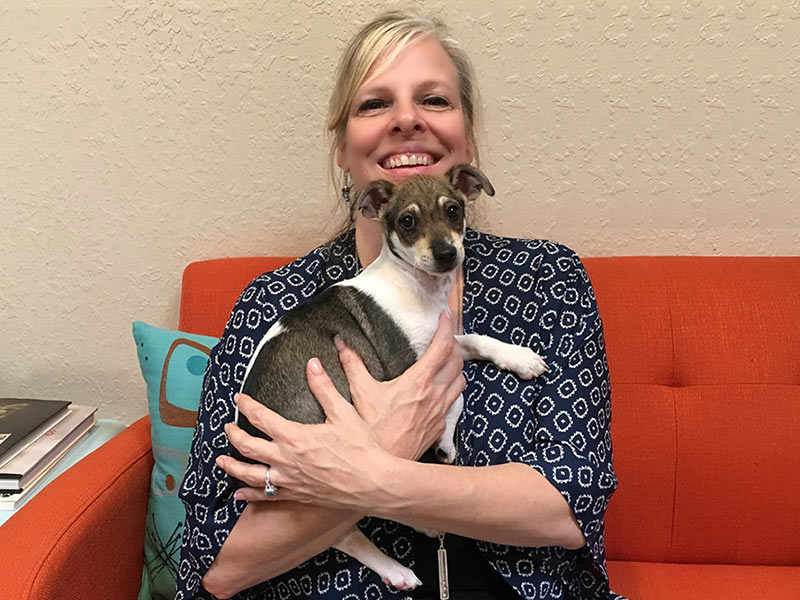 McDougall dog adopted August 2019