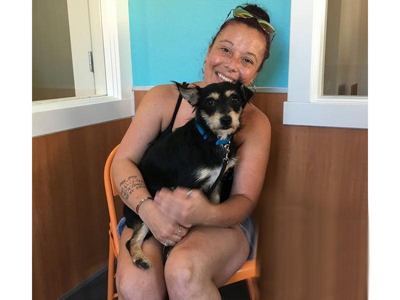 Fritz dog adopted September 2019