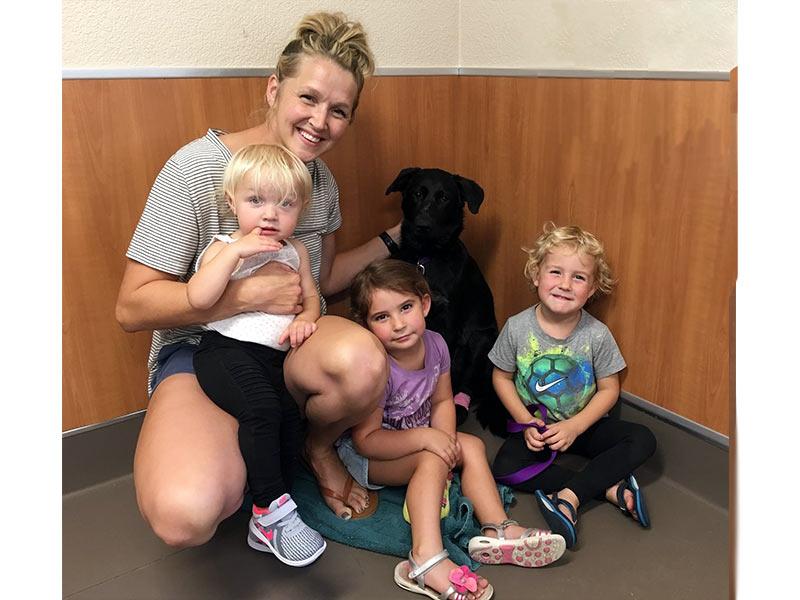 Gypsy dog adopted September 2019