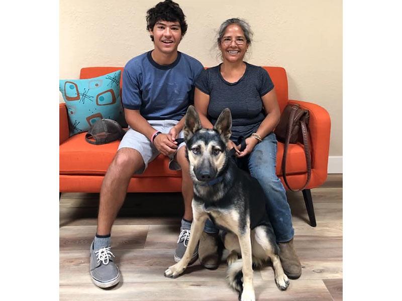 Harmony dog adopted September 2019