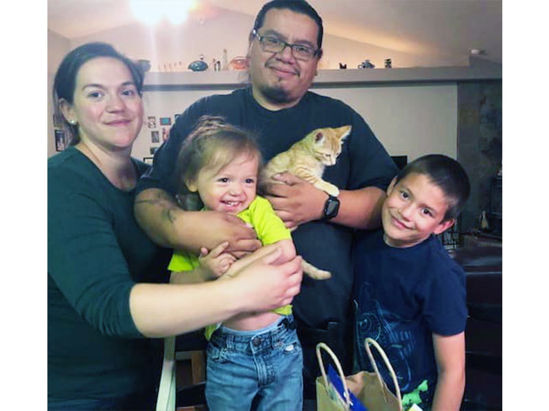 Wheeler cat adopted September 2019