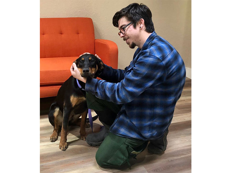 Sutter dog adopted February 2020