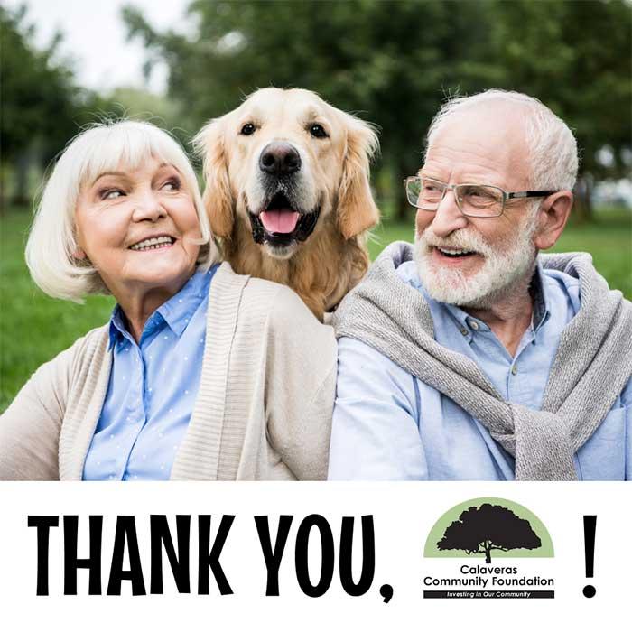 Thank You Calaveras Community Foundation