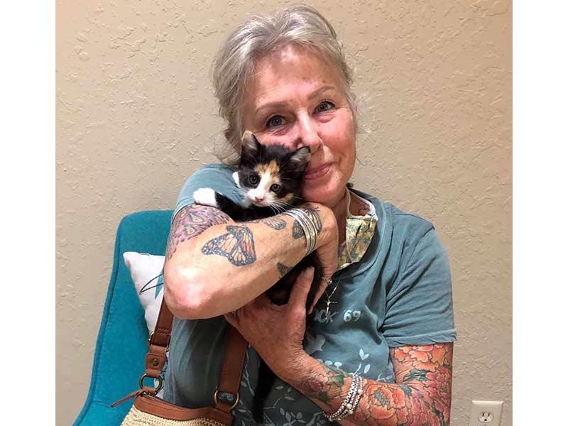 Callie cat adopted June 2020