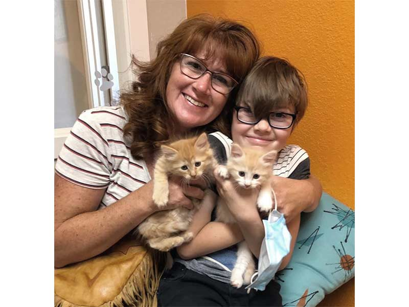 riley and sarah cats adopted June 2020