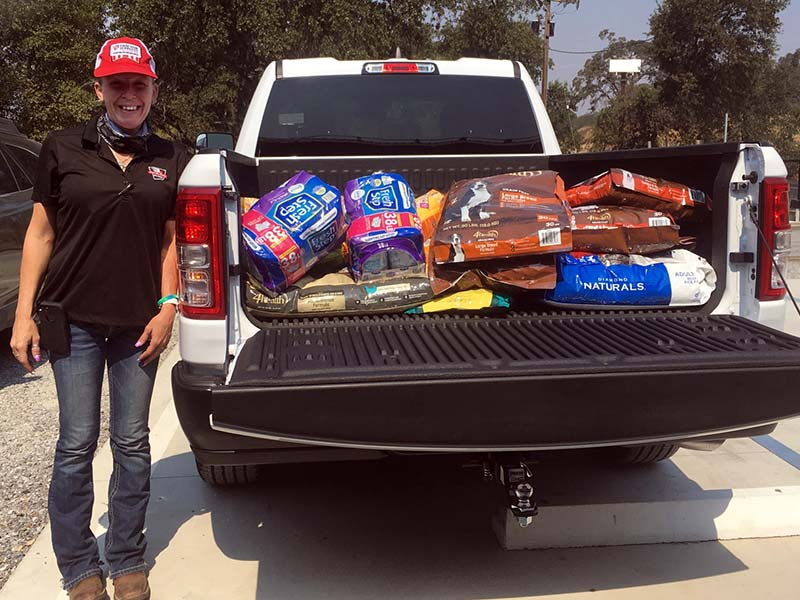 Tractor Supply Company donation to Pet Food Bank