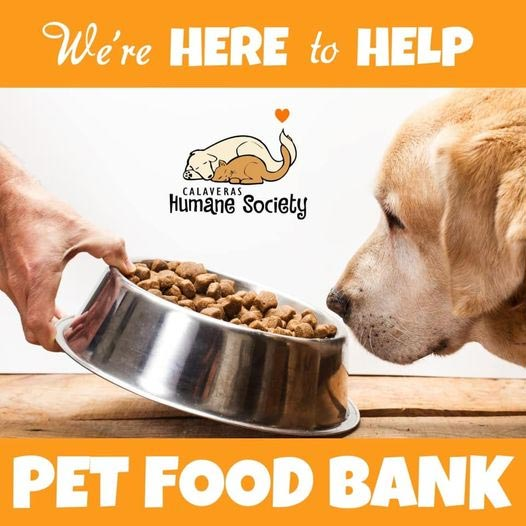 The Pet Food Bank is here to help!