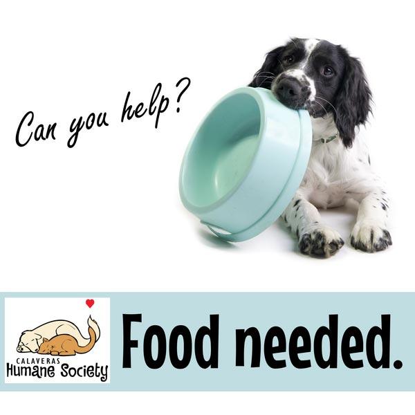Pet Food Bank - Food Needed