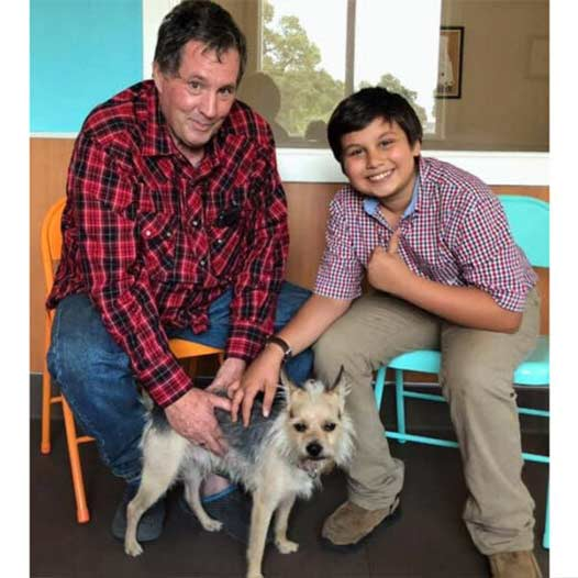 Astro dog adopted July 26 2019 through Free Pets For Vets Program