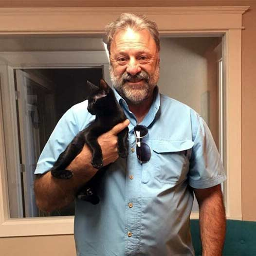 Bear cat adopted July 31 2019