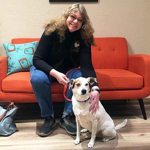 Bobbi dog adopted January 22 2020