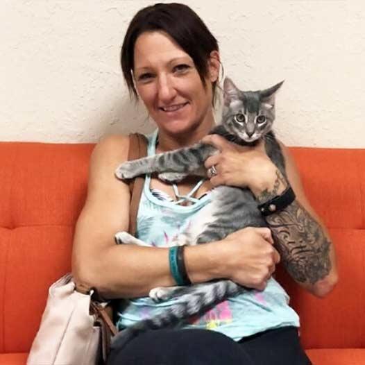 Caesar cat adopted July 27 2019