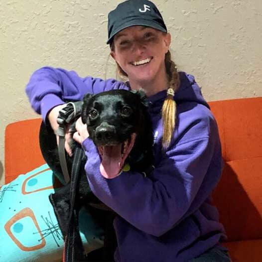 Casper dog adopted January 2020