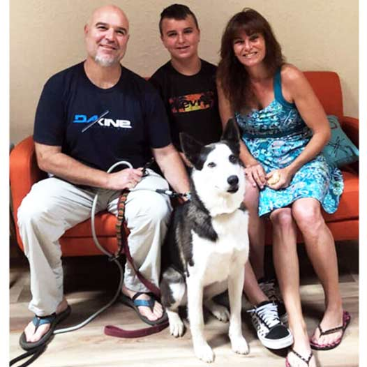 Chance dog adopted July 25 2019