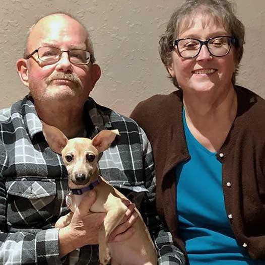 Frankee dog adopted January 26 2020