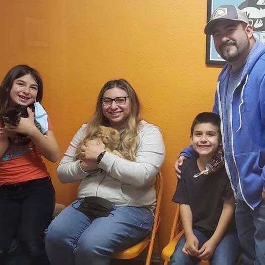 Grizz and Cheddar cats adopted May 21 2021