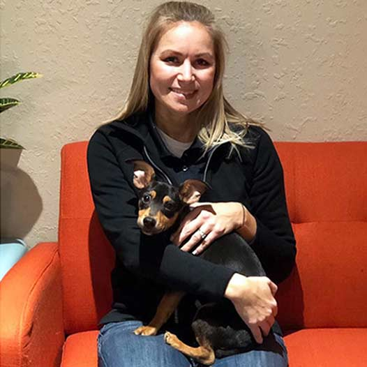 Hans dog adopted January 16 2020