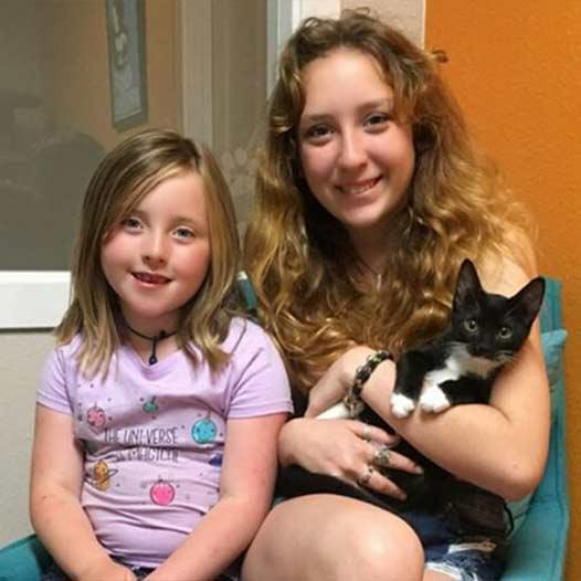 Jasper cat adopted July 11 2019