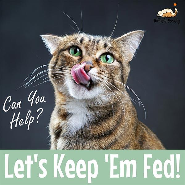 Let's keep 'em fed!