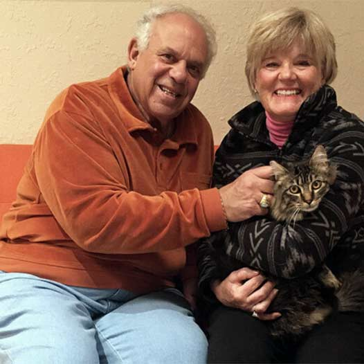 Miao cat adopted January 2 2020