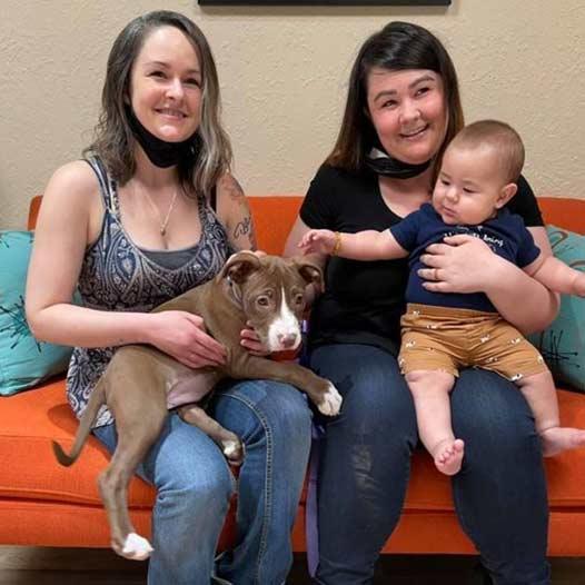 Molly dog adopted May 5 2021
