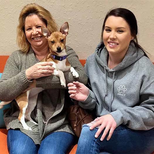 Pancake dog adopted January 24 2020
