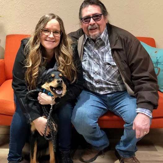 Rascal dog adopted January 10 2020