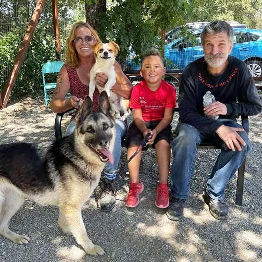 Samantha dog adopted May 26 2021