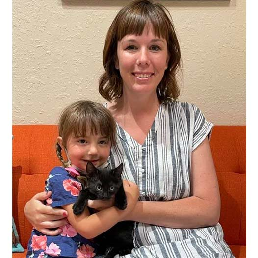 Shadow cat adopted May 14 2021