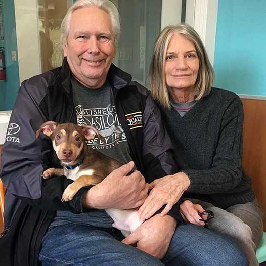 Skippy dog adopted January 15 2020