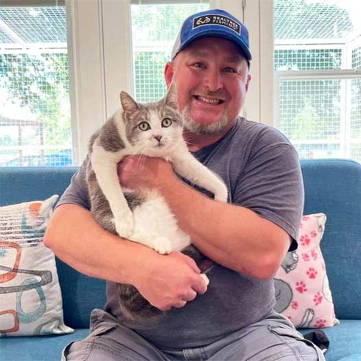 Sofia cat adopted May 14 2021