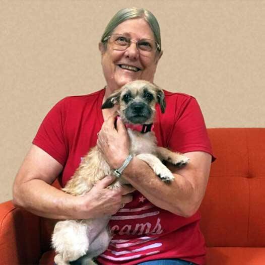 Tess dog adopted July 24 2019